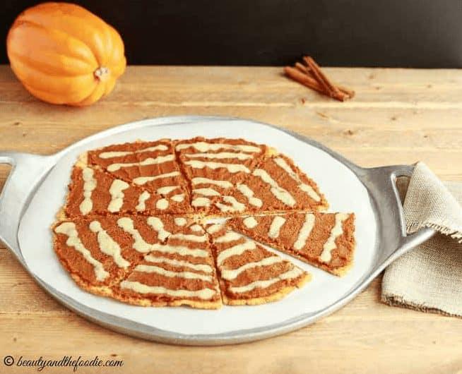 Pumpkin Pie Dessert Pizza
