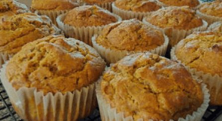 Pumpkin Spiced Muffins
