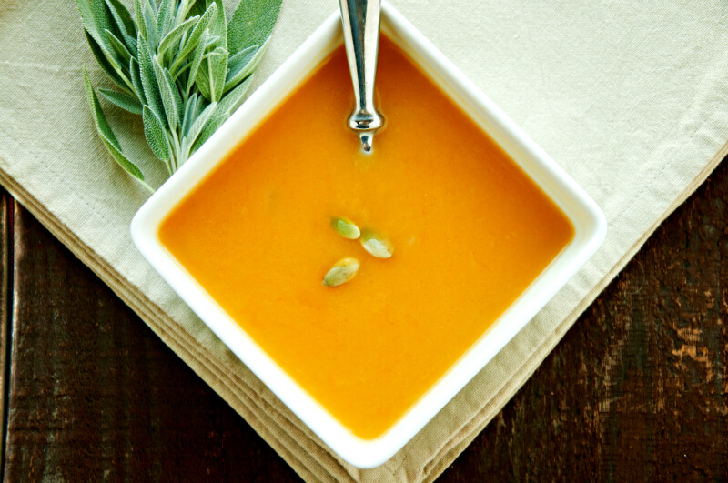 Dairy Free Butternut Squash Soup