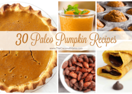 30 Paleo Pumpkin Recipes