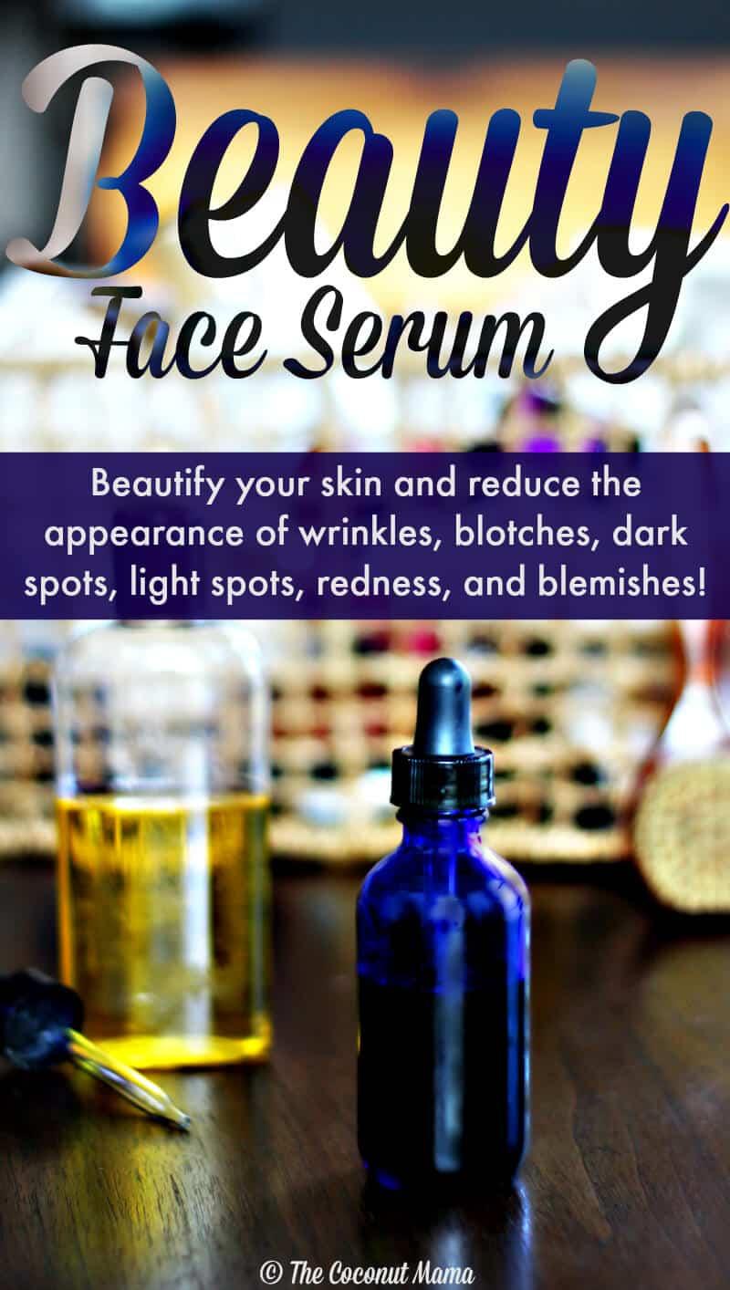 Beauty Face Serum Recipe