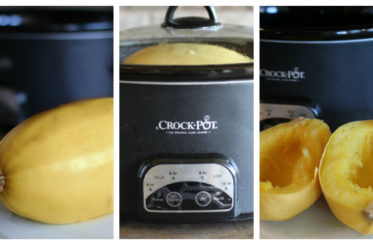 Want to learn how to cook spaghetti squash easily in a crock pot? Let me show you how!
