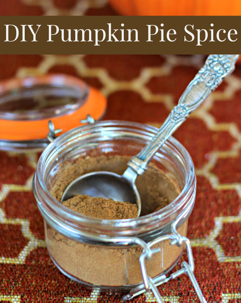 Homemade Pumpkin Pie Spice Recipe by The Coconut Mama
