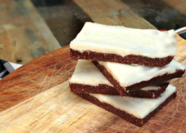 zoom shot of Coconut Protein Bars