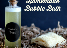 Homemade Bubble Bath Recipe