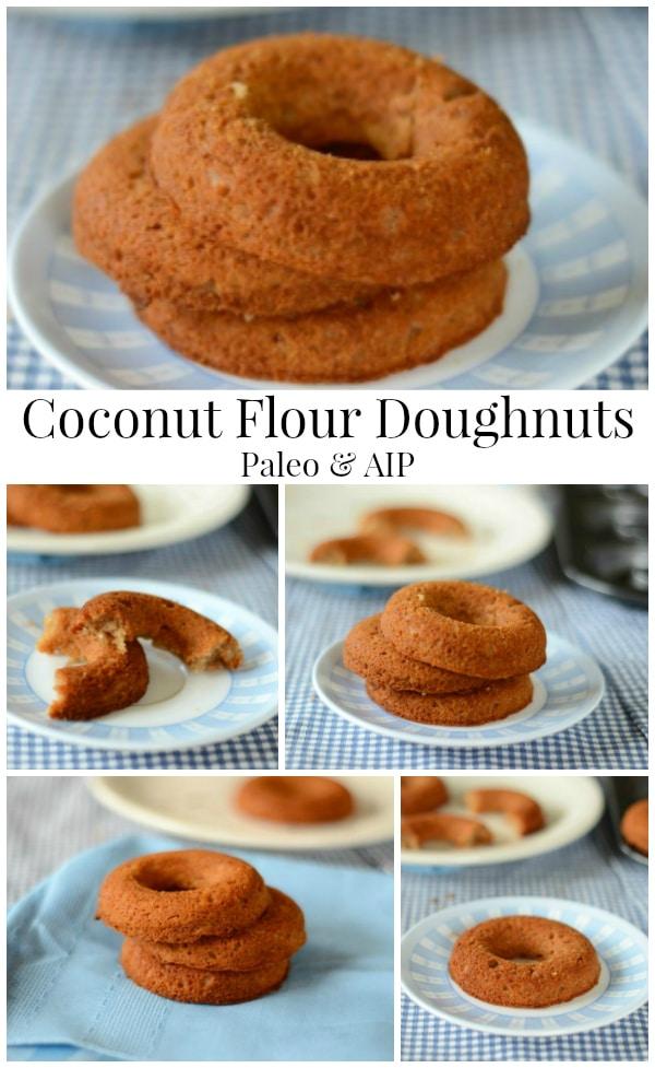 Coconut Flour Doughnuts