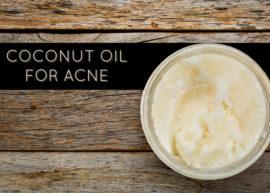 Coconut Oil For Acne and Blemishes