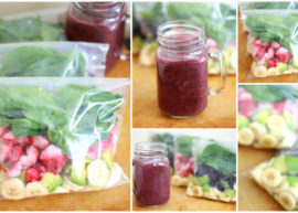10 Super Healthy Smoothie Pack Recipes
