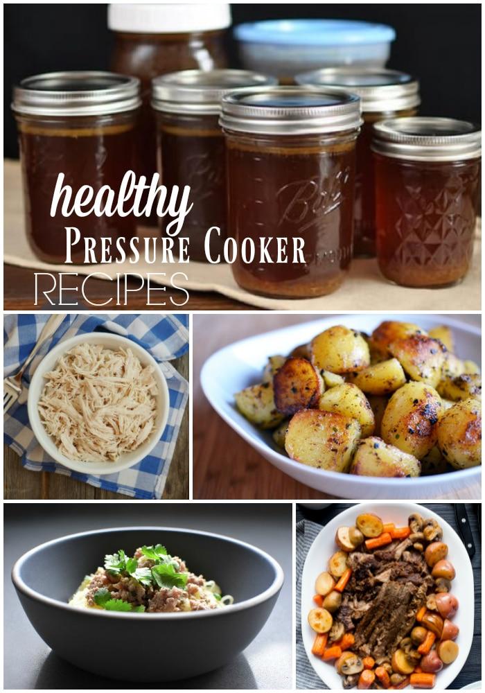 Pressure Cooker Recipes: 20 Healthy Instant Pot Recipes