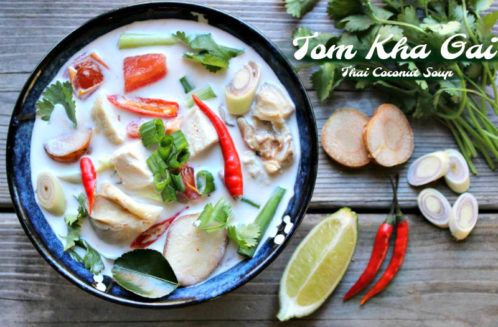 Tom Kha Gai (Thai Coconut Soup) Recipe