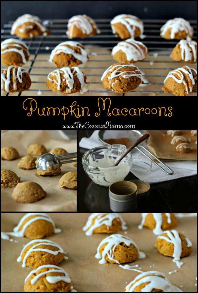 Pumpkin Macarons (No-Bake & Vegan)