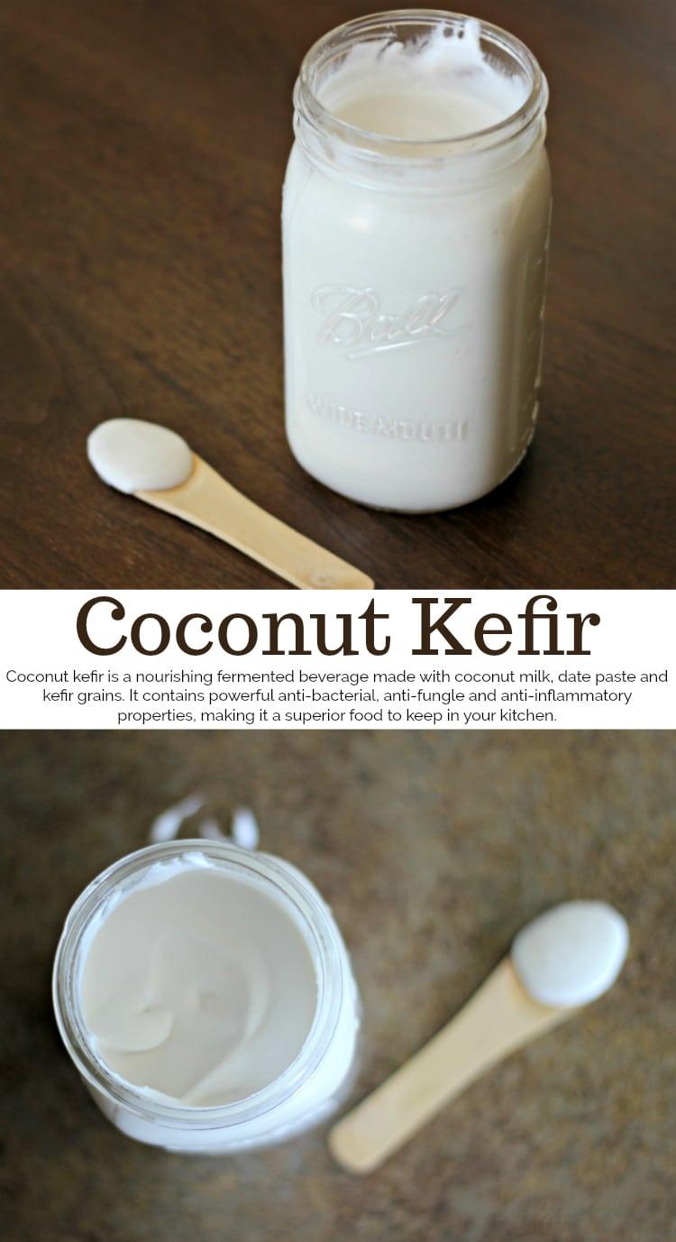 coconut kefir