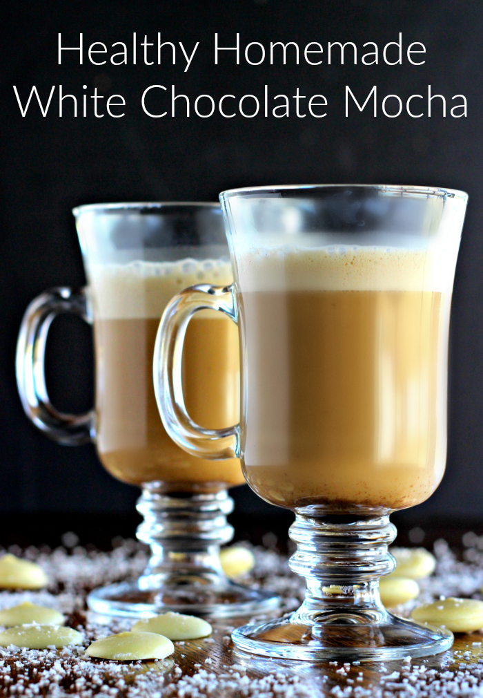 Mocha white chocolate