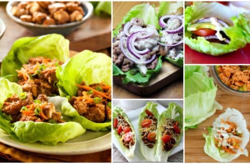 12 Healthy Lettuce Wrap Recipes