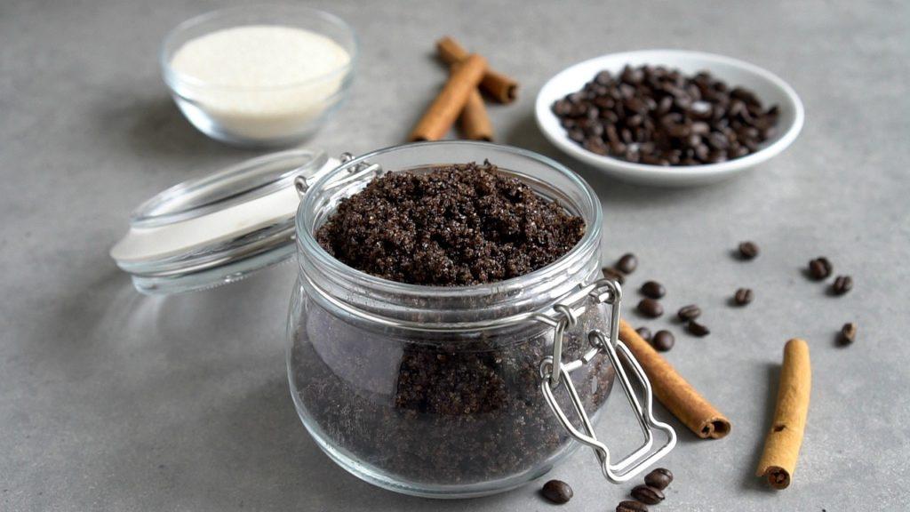 Coffee Body Scrub With Coconut Oil - The Coconut Mama
