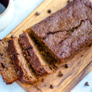 Chocolate Zucchini Bread (Paleo Friendly)