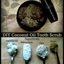 Coconut Oil Tooth Scrub With Bentonite Clay The Coconut Mama