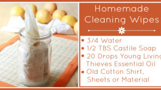 Homemade Cleaning Wipes - The Coconut Mama
