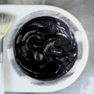 DIY Charcoal Mask For Radiant Skin (Only 4 Ingredients)