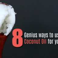 8 Genius Ways To Use Coconut Oil For Skin Care