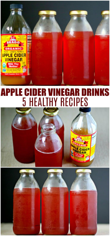 Apple Cider Vinegar Drinks Recipe - The Coconut Mama