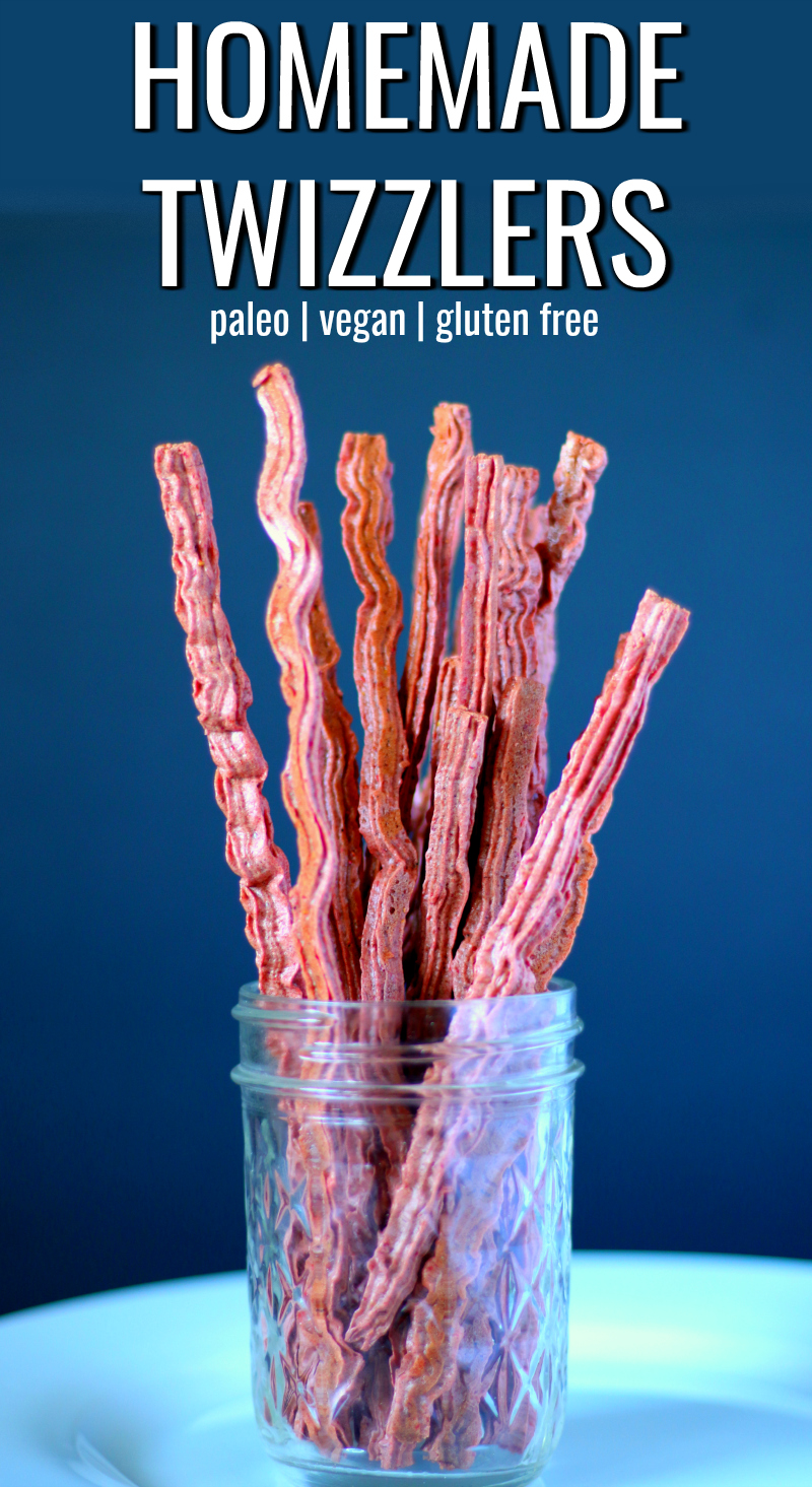 Homemade Twizzlers - Made with 100% Fruit | The Coconut Mama