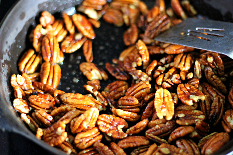 candied pecans recipe step 4