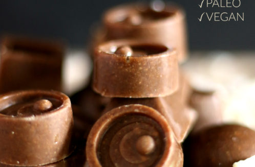 Salted Caramel Fat Bombs - Keto. Paleo & Vegan!