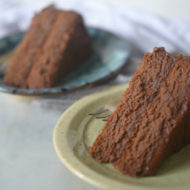 Coconut Flour Chocolate Cake