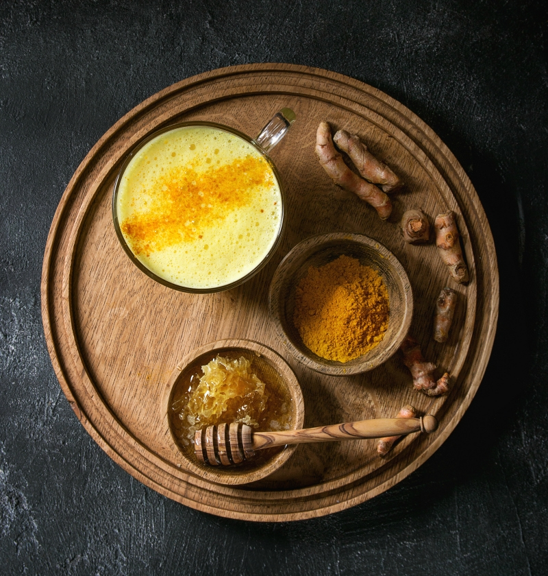 turmeric milk recipe (golden milk)