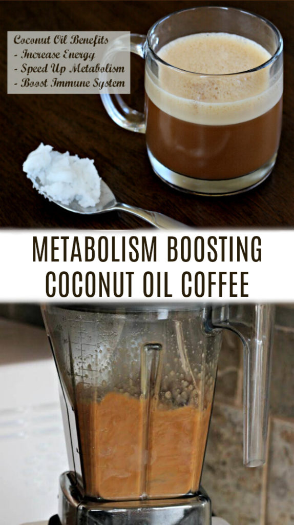 coconut oil in coffee cup