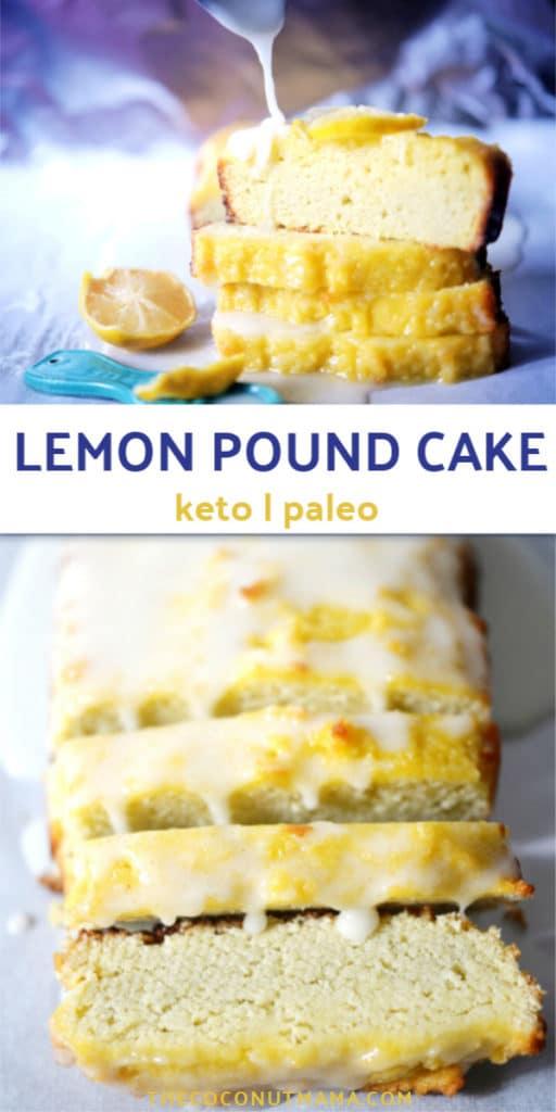 Keto Lemon Pound Cake Recipe