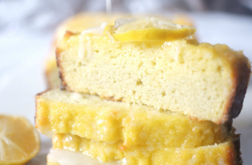 keto lemon pound cake with sugar free icing