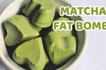 Matcha Fat Bombs