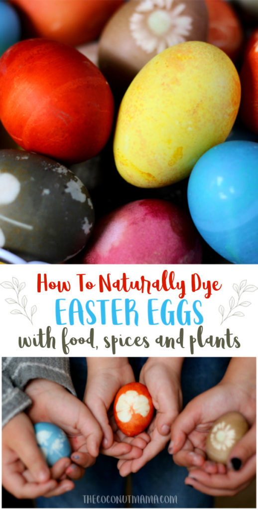 Looking for natural ways to color your Easter eggs this year? You can dye Easter eggs naturally with vegetables, fruits, and spices you have in your home!