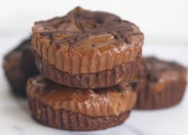 chocolate hazelnut cups