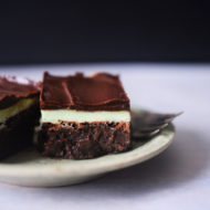 Keto Peppermint Brownies