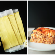 Keto Cauliflower Noodles For Lasagna