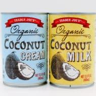 Coconut Milk vs. Coconut Cream
