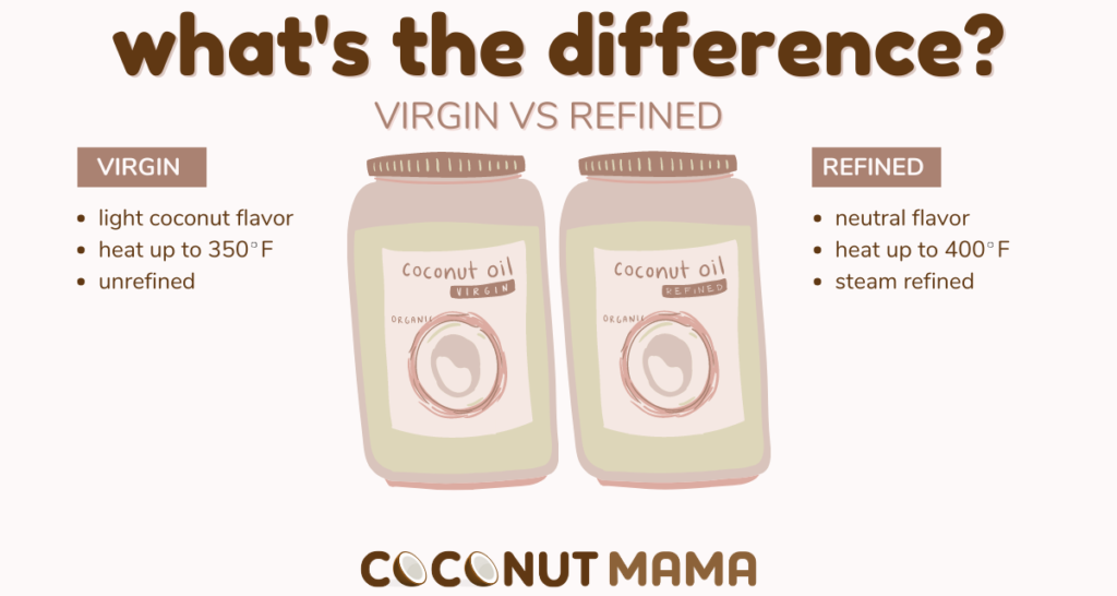 refined vs unrefined coconut oil, which is the best?