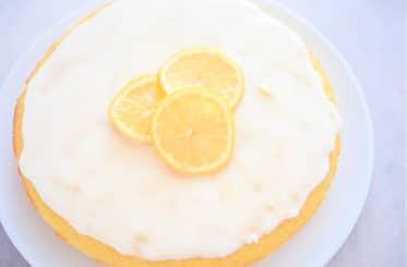 Coconut Flour Lemon Cake