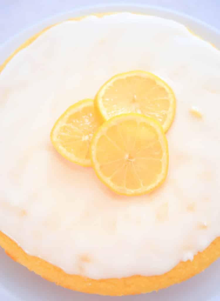 whole coconut flour lemon cake
