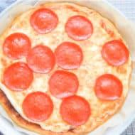 Coconut Flour Pizza Crust (Fathead Dough)