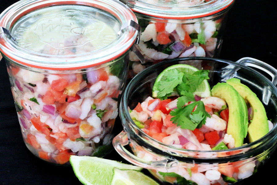 keto-friendly shrimp ceviche recipe