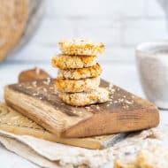 3-Ingredient Coconut Cookies