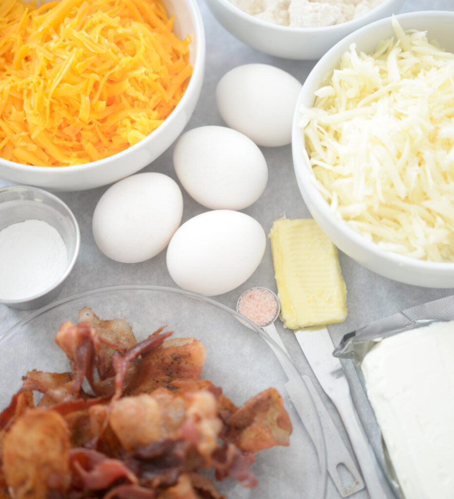 ingredients for keto biscuits
