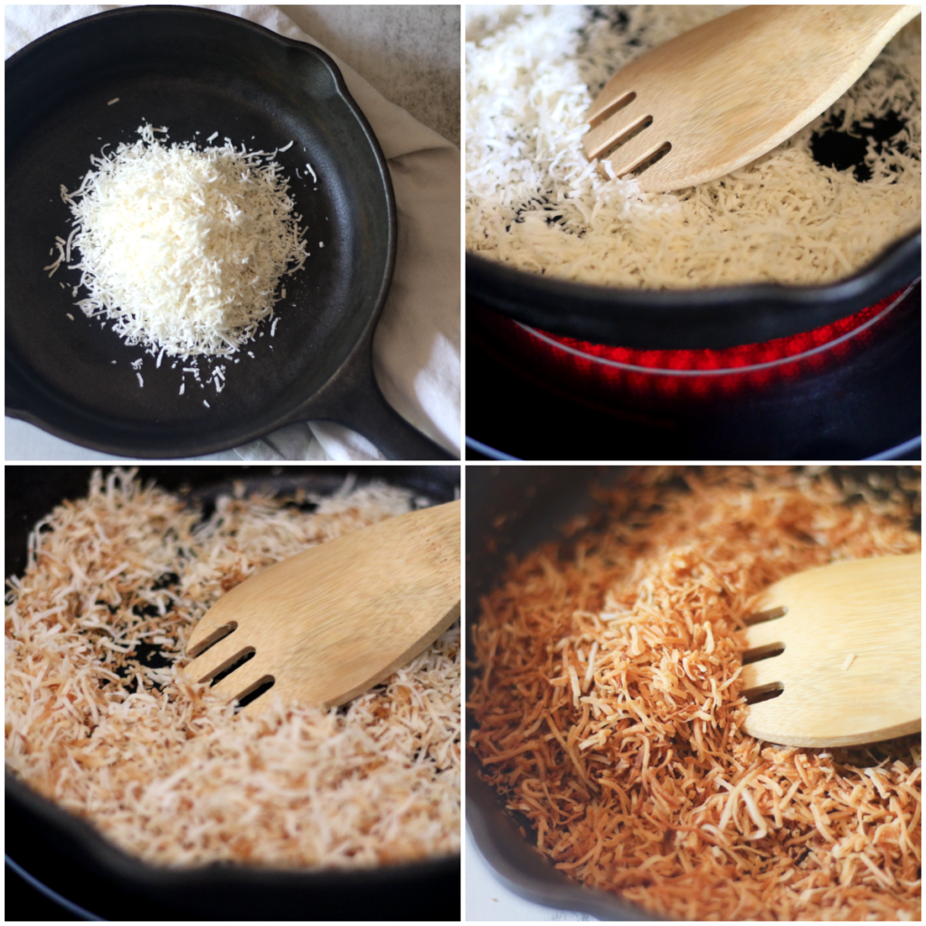 how to toast coconut on the stovetop