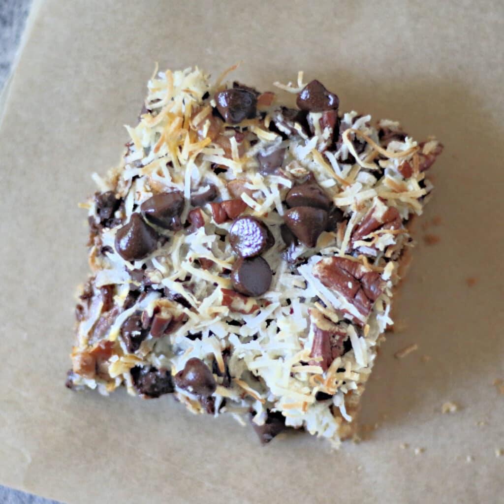 Magic Cookie Bars (Paleo, Keto, & Vegan)
