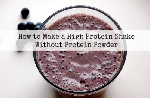 How to Make a Protein Shake Without Protein Powder from The Coconut Mama