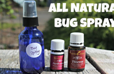 All Natural Bug Spray Enter to win a bottle of Thieves Essential Oil from Young Living!